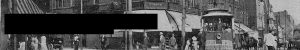 Peebles Corner, circa 1945