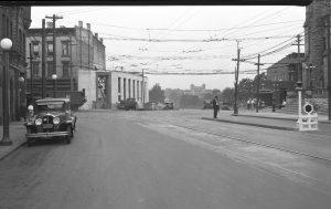 Desales Corner Looking West 1929 Madison Road Extension