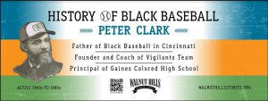 Black Baseball in Walnut Hills